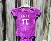 Pi Day Baby Bodysuit (9 months), Purple Pi Day Baby Shirt, Cutie Pi Bodysuit, Nerdy Baby Bodysuit, Math Baby Gift, Boys Pi Day, Girls Pi Day