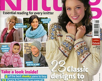 Simply Knitting Magazine, January 2011