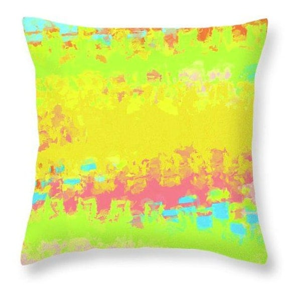 Throw Pillows Moroccan : Summer Joy 1 colorful throw pillow matching shower curtain