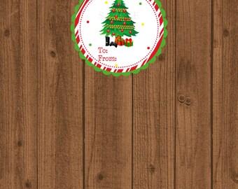Christmas Video Game Gift Tag, Boys Christmas Gift Tag, Holiday Video Game Tag, Santa Gift Tag