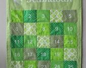 Green Ramadan Advent Pocket Calendar