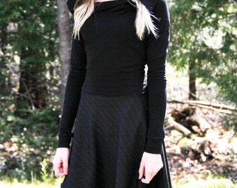 Party dress /Hoodies / High Low Dress / Low High Dress / Lace Up Dress / Casual Dress