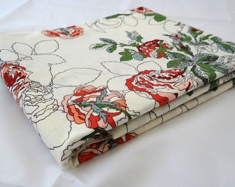 Paint by number PUREBRED retro Blanket of ROSES Erin Michael Maiden White Winner's Circle Moda quilting fabric 1 yard 26093-13
