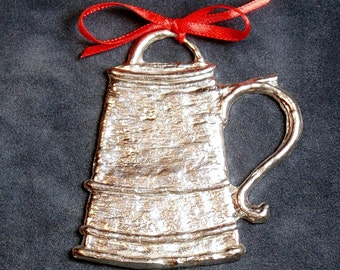 Tankard Pewter Ornament