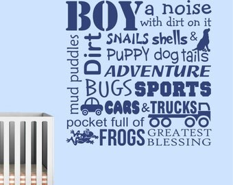 definitions of a boy vinyl wall lettering vinyl wall decals vinyl letters vinyl lettering wall quotes boy theme decal boy room decor