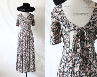 rose garden dress / tie back