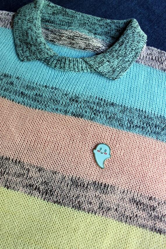 Super Cutie Ghost GLOW In The Dark Hard Enamel Pin