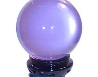 Lavender Crystal Ball, 75mm, Metaphysical Crafts