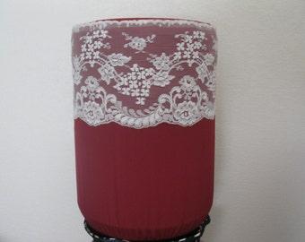 Burgundy Dispenser Water Bottle decor-5 Gallon Bottle Cover