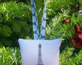 Eiffel Tower Drawing Ornament by SBMathieu