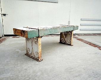 INDUSTRIAL Rustic Garden Bench (Los Angeles)