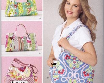 Simplicity 1599, Handbag Sewing Pattern by Sweet Pea Totes, Shoulder Bags, Boho Handbag, Handbag Patterns, Uncut
