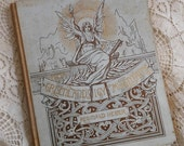 Gilt Lettering Poetry Book Victorian From Greenland's Icy Mountains Antique at Quilted Nest