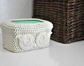 Owl Baby Wipes Box Cover Woodland Cream Nursery Decoration Home Decor Custom Colors