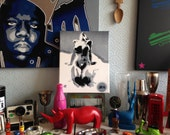 reserved for Jacqueline,painting in grey,white,black,canvas,bright,bold,beauty,nude art,home,wall art,women,street art,pop,graffiti,stencils