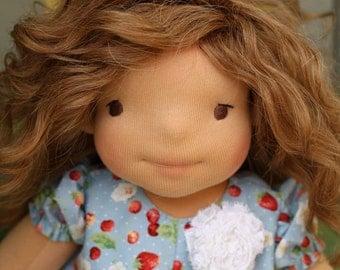 """Waldorf doll Poppy 18"""" Gifts for Children birthday, dolls"""