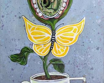 Original Acrylic Painting - Symbiosis