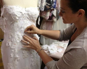 Custom Wedding Dress and Design Your Own Wedding Dress with Award Winning Designer in Teaneck, NJ.