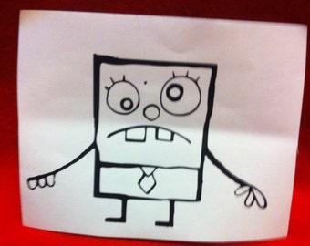 Spongebob Squarepants - Doodle BOB Vinyl decal