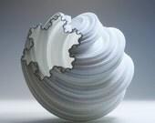 christmas gift modern vase luminary 3d fractal modern lamp housewarming gift