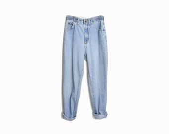 Vintage 90s LEE Mom Jeans / Elastic Waist Denim - 4/6