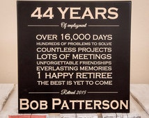 Personalized Retirement Gift - Retirement Gifts - Retirement Gifts for Men - Retirement Gifts for Women - Retirement Sign - Wood Engraved