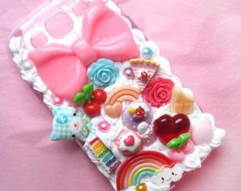 Decoden phone case kawaii - iPhone 5/5s 6 / 6s PLUS 7  iPhone SE 4s /4 Samsung Galaxy S3 S4 S5 S6 S7 a3 ipod touch 5, 4 generation LG G3 G5