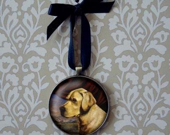 Labrador Ornament, Dog Ornament, Yellow Lab, Christmas Ornament, Labrador Retriever, Yellow Lab, Golden Retriever, Pet Owner Gift