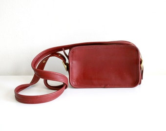 Red Coach Satchel