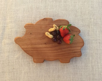 Hedgehog Breakfast Board
