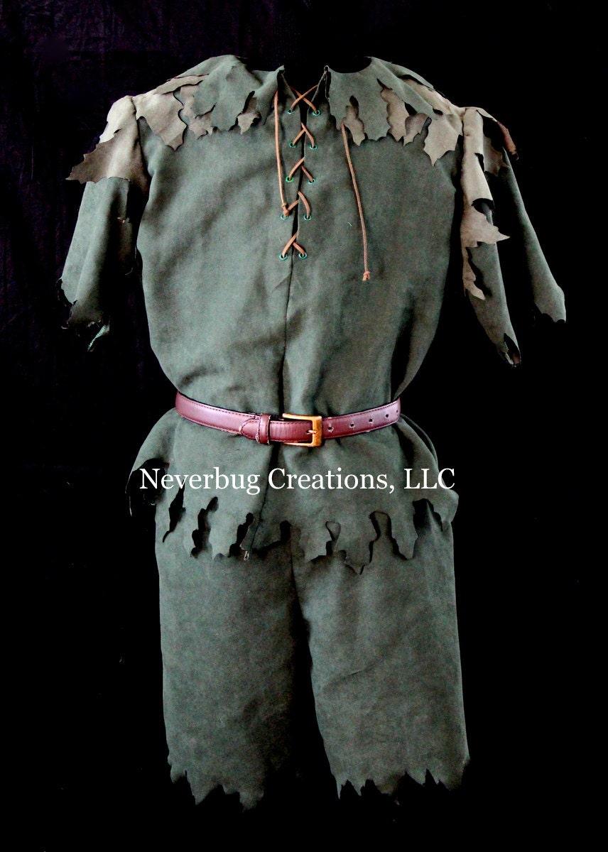 Peter Pan Hook Custom Costume