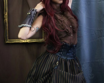 Steampunk Sleeveless Shirt