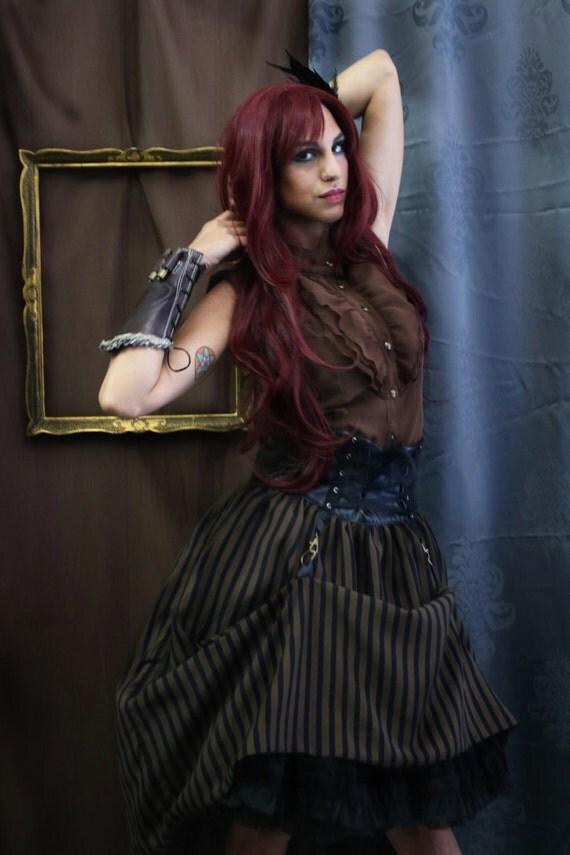 Steampunk Gothic Sleeveless Shirt