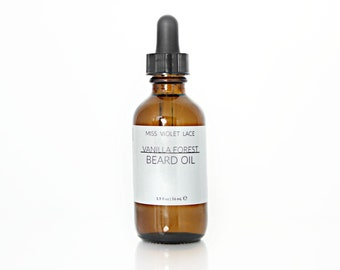 Vanilla Forest Beard Oil | 100% natural and vegan beard oil | Men's Grooming