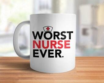 Funny nurse gift | Etsy