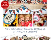 Cowboy Birthday Decorations | Cowboy Party Printable | Western Birthday | Cowboy 1st Birthday | Cowboy Party Favor | Amanda's Parties To Go