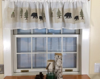 All About Bears Valance