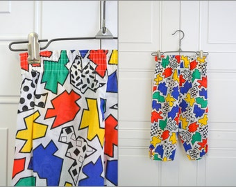 1980s Howard Joseph Kids' Abstract Print Pants