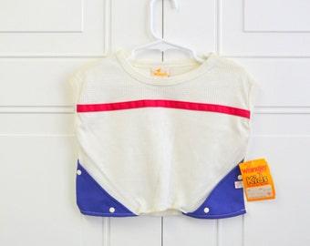 1980s NOS Wrangler Girls' Knit Top