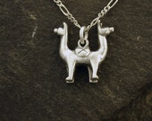 Special for Karen Sterling Silver Push Me Pull You Pendant without Chain.