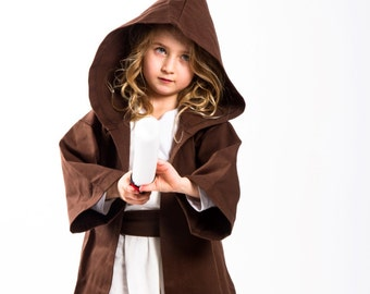 Jedi Costume Star Wars Toddlers Jedi costumes 6PC  toddler costume Ready to ship Halloween costumes for kids.