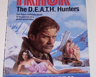 TRACK #9: The D.E.A.T.H Hunters by Jerry Ahern, paperback