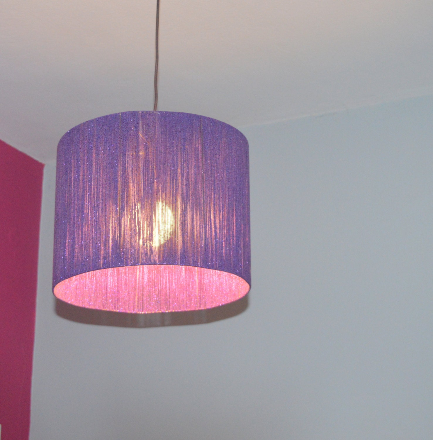 Light Purple String Lights : Metallic Purple Light Purple String Lamp Pendant Ceiling
