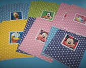 Mickey and friends. Mickey thank you. Mickey mouse party. Gifts under 20. Blank notecards. Disney stationary. Walt Disney World. Note cards