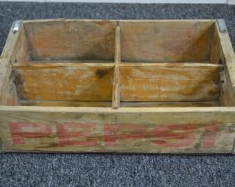 Antique Wood Pepsi Crate