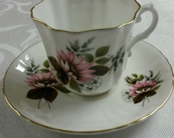 Royal Grafton Tea Cup and Saucer  circa 1957plus   968