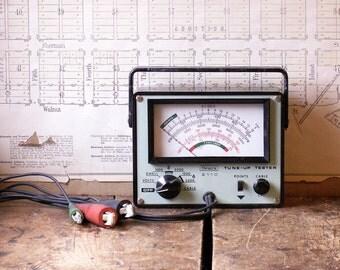 Vintage Sears 2110 Engine Tune Up Tester - Automotive Diagnostic Tool