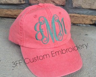 Personalized Monogrammed Baseball Hat