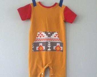 Child Romper // Baby Romper // Child Bodysuit // Baby Bodysuit // Infant Romper // Tribal // Modern Children Clothing