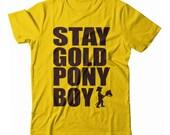 Stay Gold Pony Boy UNISEX T-shirt